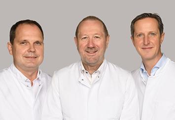 Dr. Bert Rüffert, Dr. Georg Schön, PD Dr. Carsten Kempkensteffen