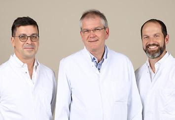 Dr. Frank Schönenberg, Dr. Berthold Amann, Prof. Dr. Klaus Brechtel