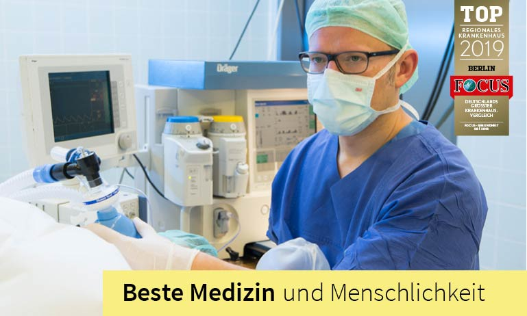 Clinic for Internal Medicine in Berlin specializes in the fields of vascular medicine and diabetology, cardiology, hypertension, gastroenterology, oncology and pneumology