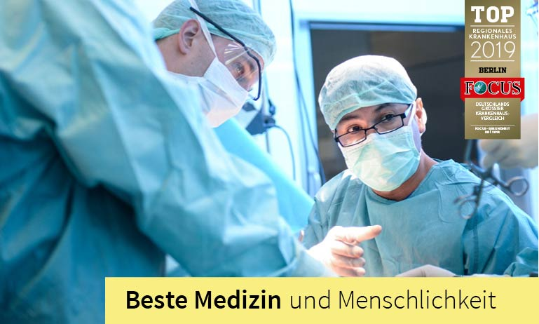 Clinic for Surgery specialized in visceral, vascular, endovascular and tumor operations