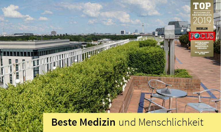 The Franziskus-Hospital in Berlin provides with its comfort ward »Salveo« also an excellent service and extensive assistance