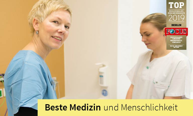 Clinic for Anesthesia in Berlin. In 5 modernly equipped operating rooms we have around 3,500 anesthesia procedures per year.