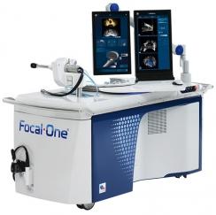 Die Behandlungseinheit Focal One® für die Behandlung mit fokussiertem Ultraschall. Foto: Focal One®