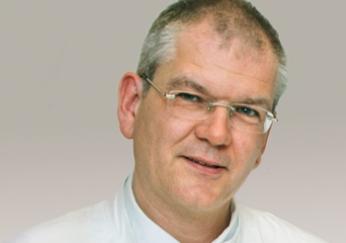 Dr. Berthold Amann, Chefarzt der Klinik für Innere Medizin