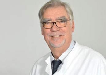 Prof. Dr. Winfried Hardinghaus, Chefarzt der Klinik für Palliativmedizin.