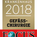 Focus-Siegel Top Nationales Krankenhau 2018 Gefäßchirurgie