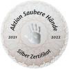 Silber-Zertifikat Aktion Saubere Hände